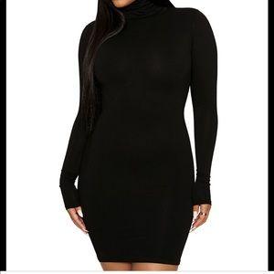 The NW Turtleneck Mini Dress